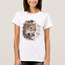 Funny, Welcome to the Nuthouse, Squirrel, Animal T-Shirt