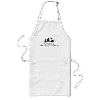 Funny Went outside once graphics computer gaming Long Apron