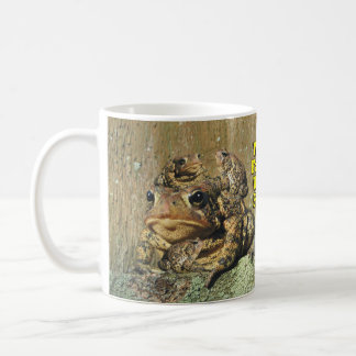 Funny We're Family Warts & All Toad Coffee Mug