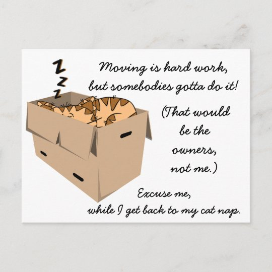 Funny We Re Moving New Address Announcements Zazzle Com