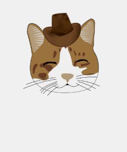 6362f59620 Cowboy Cat T-Shirts - T-Shirt Design & Printing | Zazzle
