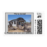 Funny We've Moved New Address Postage Stamps
