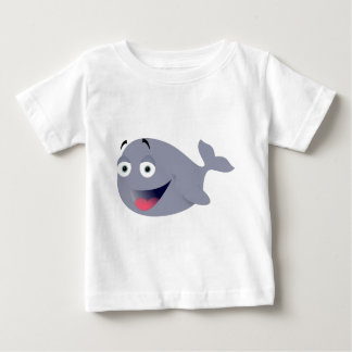 Funny Whale Baby T-Shirt