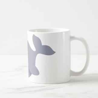 funny whale coffee mug