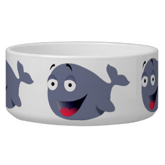 Funny Whale Dog Bowl (also in cat size)
