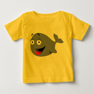 Funny Whale Infant T-Shirt