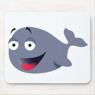 Funny Whale Mousepad