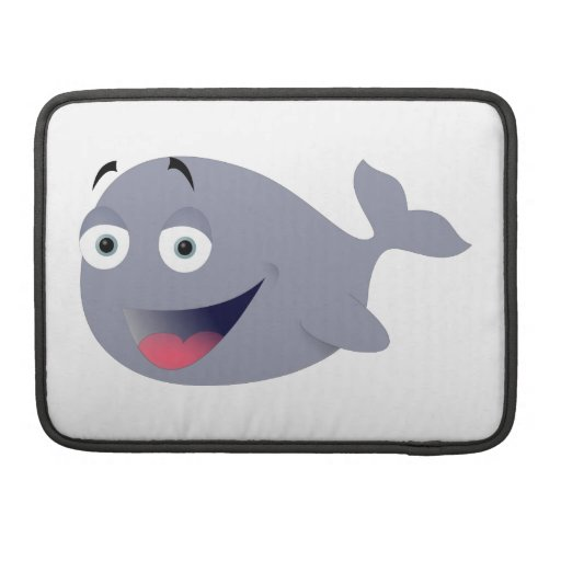 Funny Whale Sleeve For MacBooks