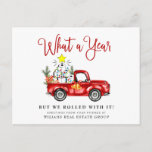 """Funny What a Year 2020 Christmas Corporate Postcard<br><div class=""""desc"""">Funny What a Year 2020 Christmas Corporate Postcard.</div>"""