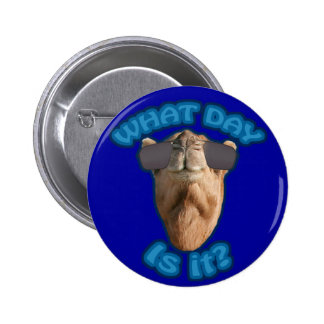 """Funny """"What Day is it?"""" Humpday Button"""