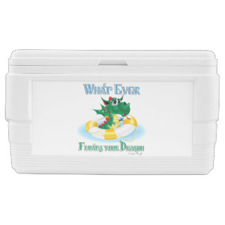 Funny Whatever Floats Your Dragon Chest Cooler