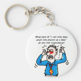 Funny When Court Reporters Attack Keychain