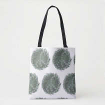 Funny Whirled Peas Design Tote Bag