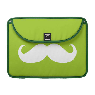 Funny White Mustache 5 Sleeve For MacBook Pro