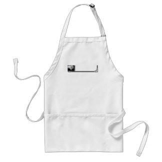 Funny White Persian Cat Apron
