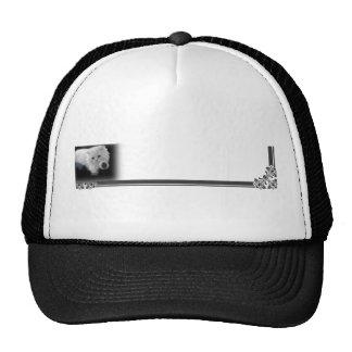 Funny White Persian Cat Cap Hat