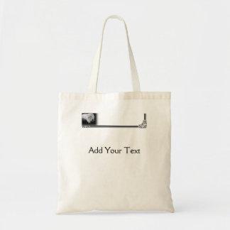 Funny White Persian Cat Tote Bag