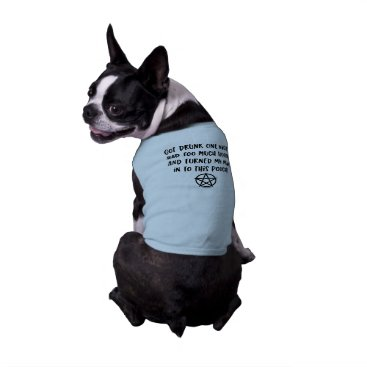 Halloween Themed Funny Wiccan Pagan Cheeky Witch® Dog T-Shirt