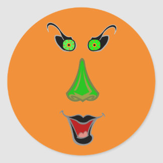 Funny Wicked Witch - Cute Halloween Stickers