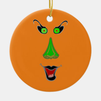 Funny Wicked Witch - Halloween Christmas Ornaments