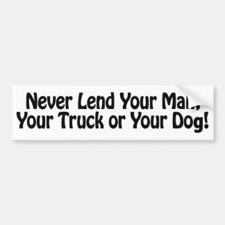 Funny Wife Gifts! Car Bumper Sticker