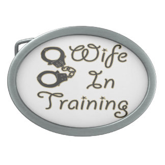 funny wife in training handcuffs bride to be mrs belt buckle