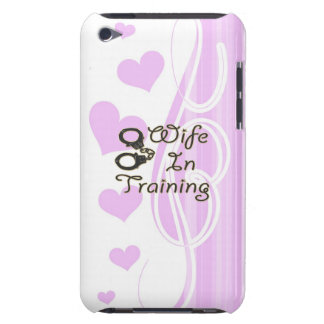 funny wife in training handcuffs bride to be mrs iPod Case-Mate case