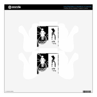 Funny Wife PS3 Controller Skins