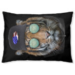 Funny wildlife dressed up Funny Bengal Tiger Pet Bed