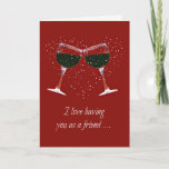 "Funny Wine Happy Birthday Card for Friend<br><div class=""desc"">It&#39;s good to have a friend that you can &quot;wine &quot; with! This is a fun wine country themed Happy Birthday card just for that friend!</div>"