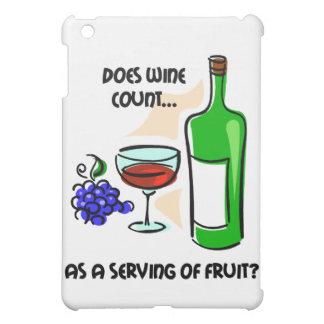 funny wine case for the iPad mini