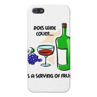 funny wine iPhone 5 case