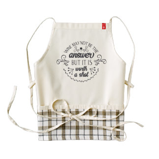 Funny Wine May Not be the Answer | HEART Apron