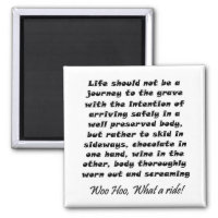 Funny wine quote joke birthday humor gifts magnets
