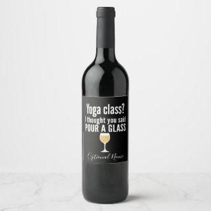 funny wine champagne labels zazzle