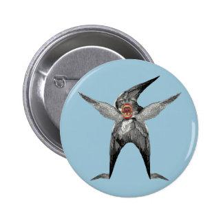 funny Wingman Dada Inspired Pinback Button