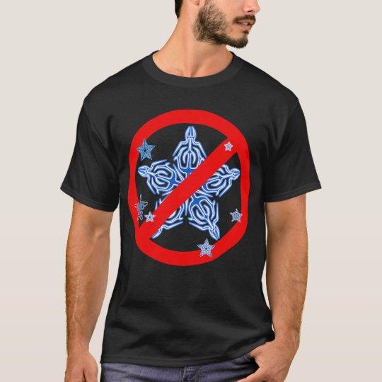 Funny Winter Design NO SNOWFLAKES Tshirt