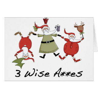 Funny Wise Men Christmas Cards