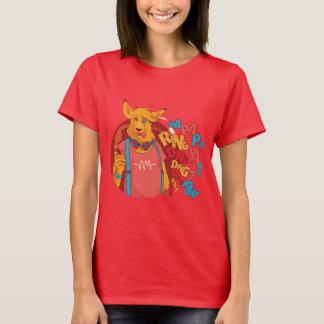 Funny wolf smoking T-Shirt
