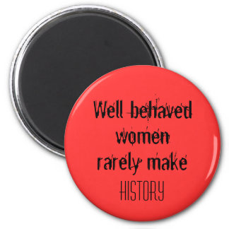 Funny womens birthday gifts pink fridge magnets
