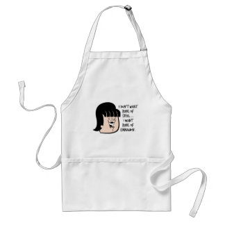 Funny Women's Gift Adult Apron