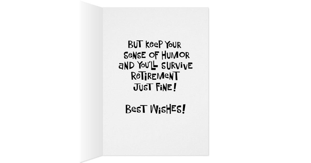 funny women u0026 39 s retirement card