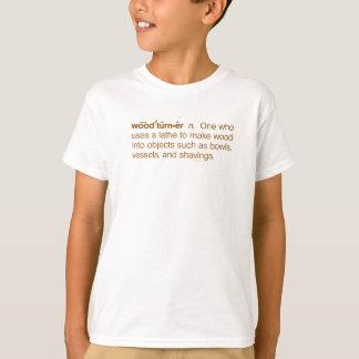 Funny Woodturner Definition Woodturning T shirt