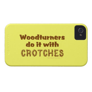 Funny Woodturners Do It With Crotches Custom iPhone 4 Case-Mate Cases