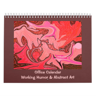 Funny work jokes and art calendar