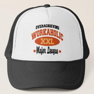 Funny Workaholic Trucker Hat