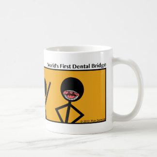 Funny World's 1st Dental Bridge Stickman Mug - 081