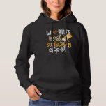 Funny WoRLd's Best Sunscreen Expert Redhead Cat Hoodie
