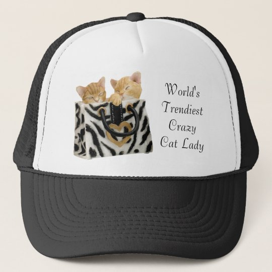 Funny World's Trendiest Crazy Cat Lady Hat