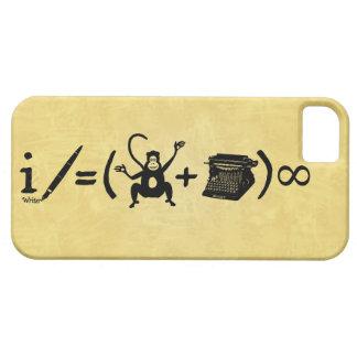 Funny Writer Monkey Typewriter Equation iPhone SE/5/5s Case